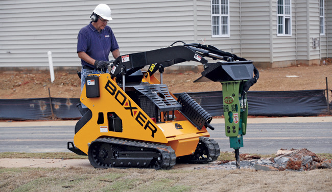 Boxer Skid Steer Walkbehind