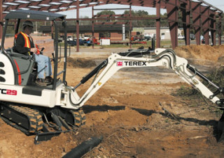 Terex Mini Excavator TC 29