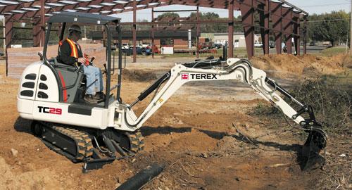 Terex Mini Excavator TC 29