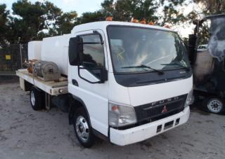 Mitsubishi spray truck