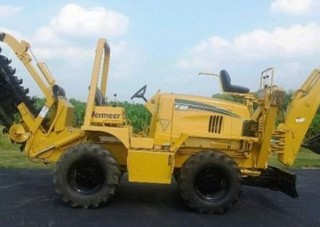 Vermeer RT950 rubber tire trencher