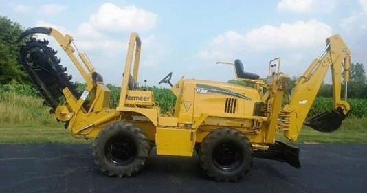 Vermeer RT950 rubber tire trencher
