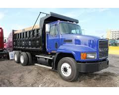 Mack CH 600 dump truck