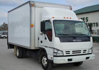 Isuzu NPR Box Truck